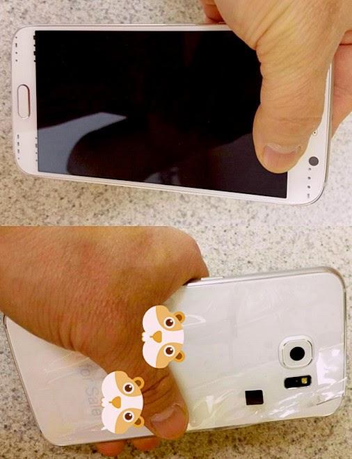 Samsung Galaxy S6, SGS6, Prototype