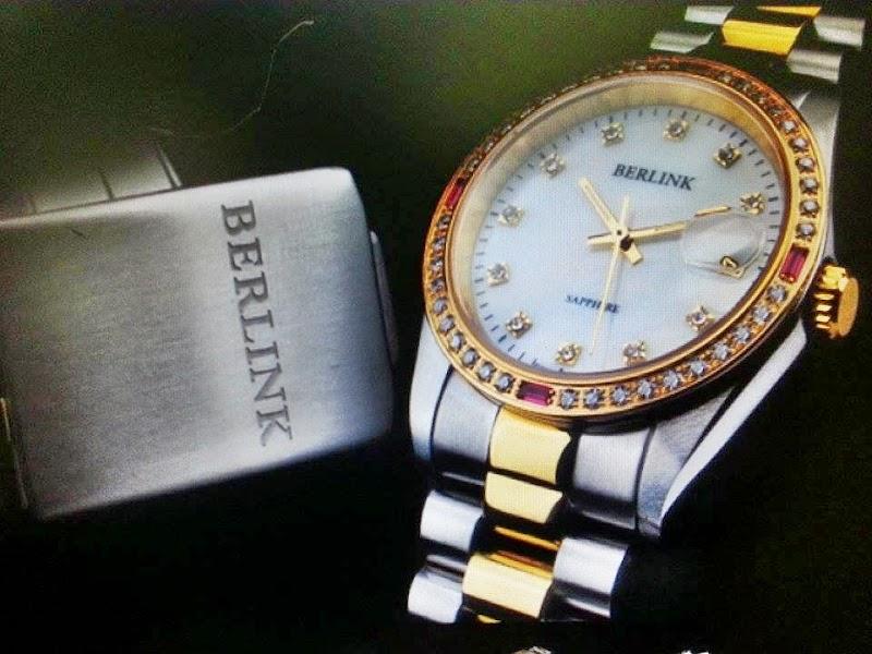 Anniversary Gift Berlink Swiss Sapphire Watch Original