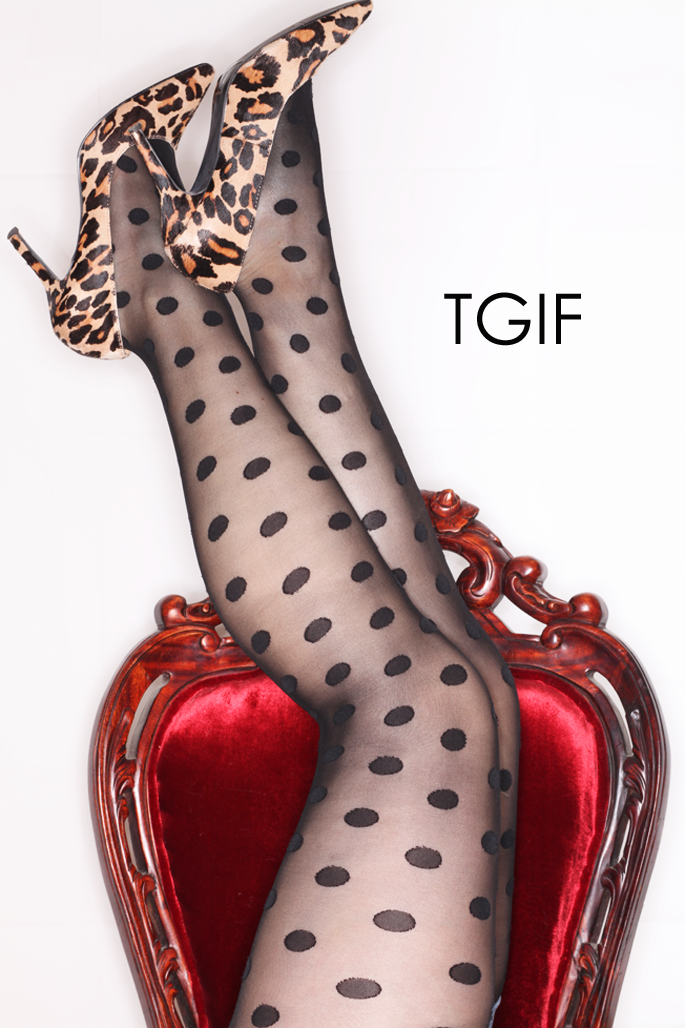 nine-west-leopard-pumps-polka-dot-tights-red-velvet-antique-chair-tgif