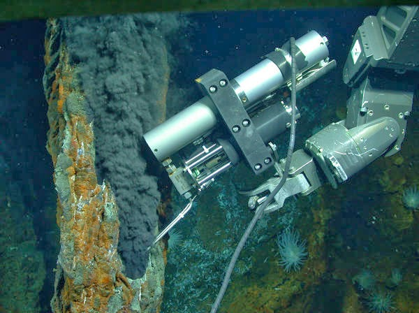 Kehidupan Bumi Dasar Laut, hidrotermal, Methanethiol