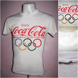 VINTAGE 50/50 COCA COLA OLYMPIC 1988