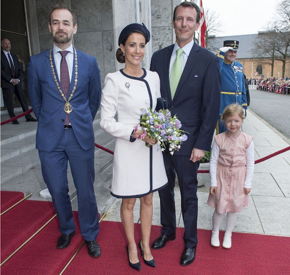 Festivities In Aarhus for the 75th Birthday of Queen Margrethe