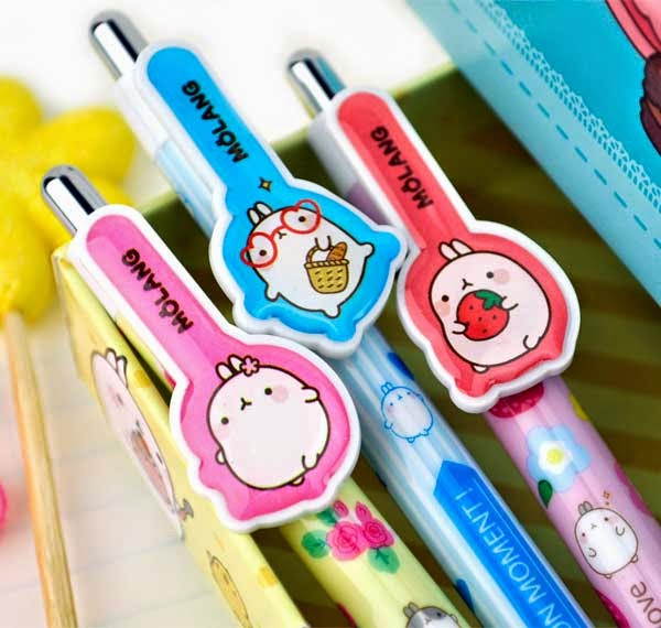 molang mechanical pencils at CoolPencilCase.com