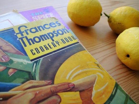 katiecrackernuts.blogspot.com || vintage cook book frances thompson cookery