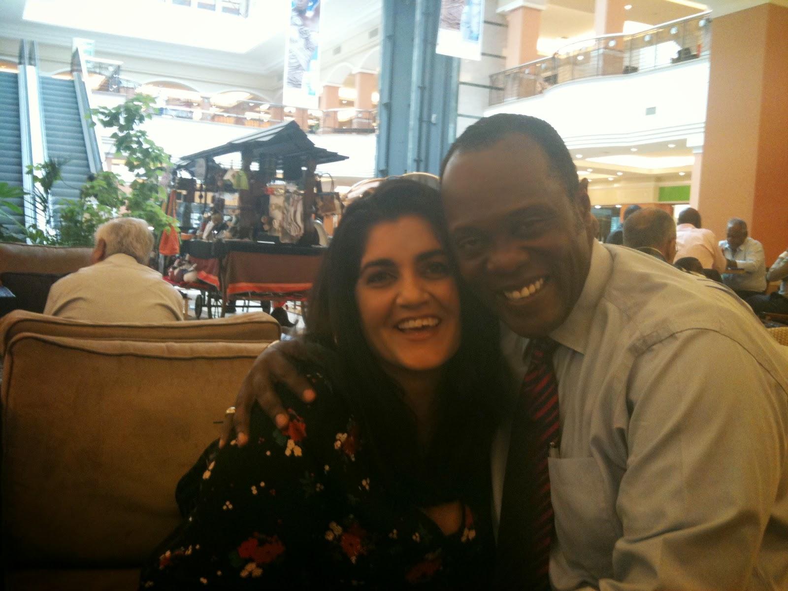 Friday, June 27, 2014 – Kenya's leading journalist, Jeff Koinange