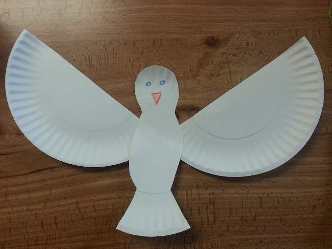 Ravenmaid creative blog sunday school peace and dove for Holy spirit crafts for sunday school
