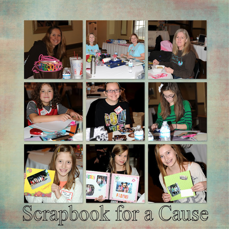 Scrapbook for a Cause 2012