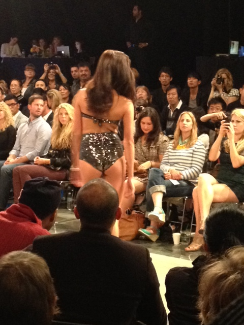 Heiress swimwear at VFW ss2013, sequined bikini, Vancouver Fashion Week, VFW, SS 2013, Vancouver, Fashion, Style