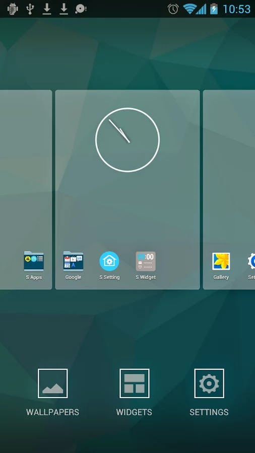 S Launcher (Galaxy S5 Launcher) Prime v3.0