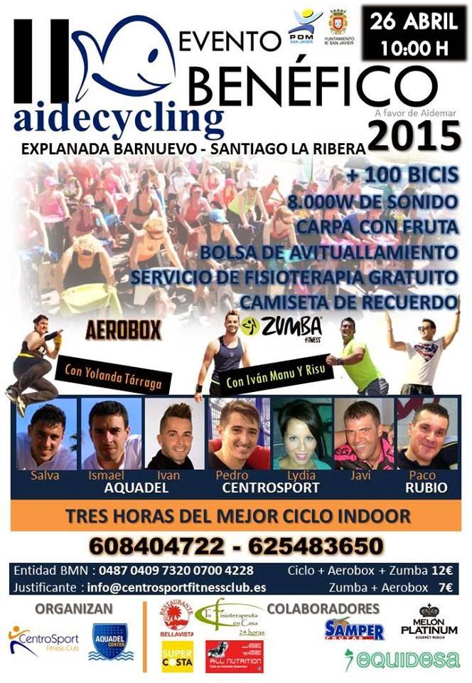 II Evento Fenéfico Aidecycling