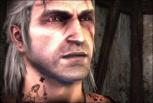 Geralt W Grze Wiedźmin 3 Dziki Gon Może Nosić Tatuaż Zdobyty W