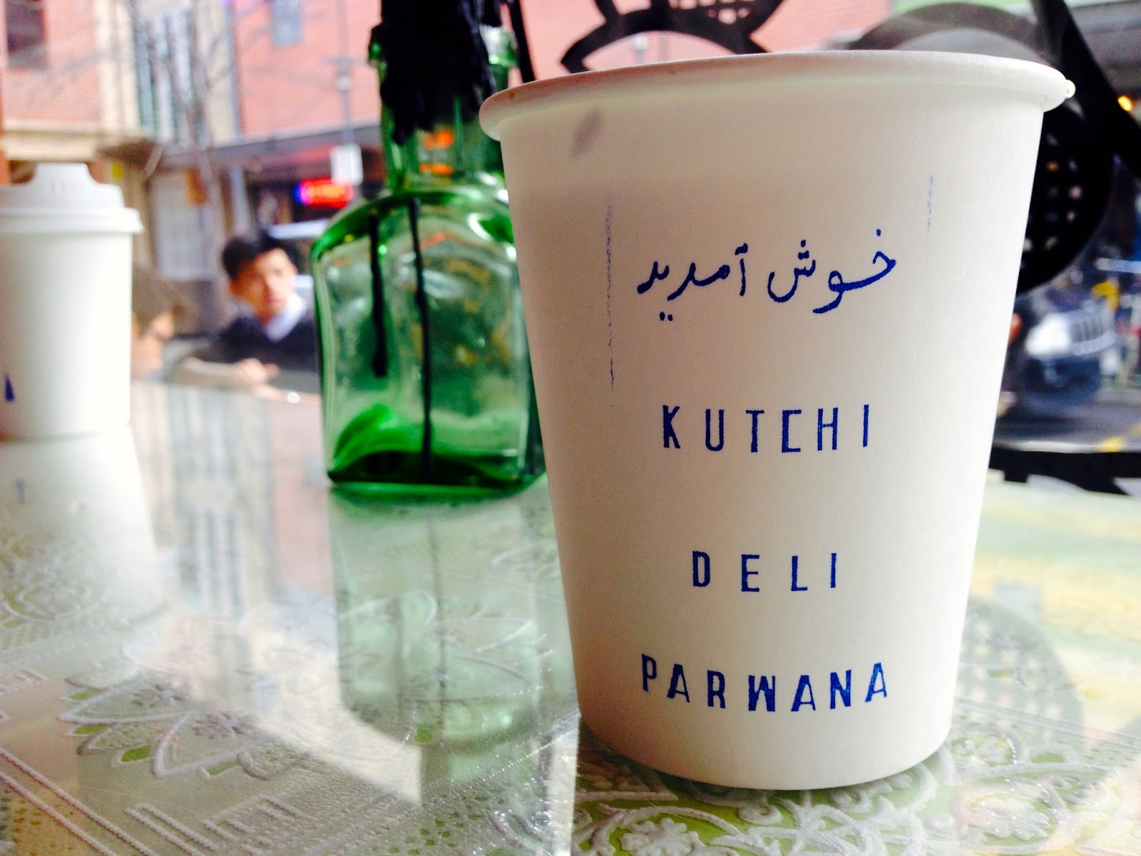 Hot spiced Afghan tea - Kutchi Deli Parwana, Adelaide