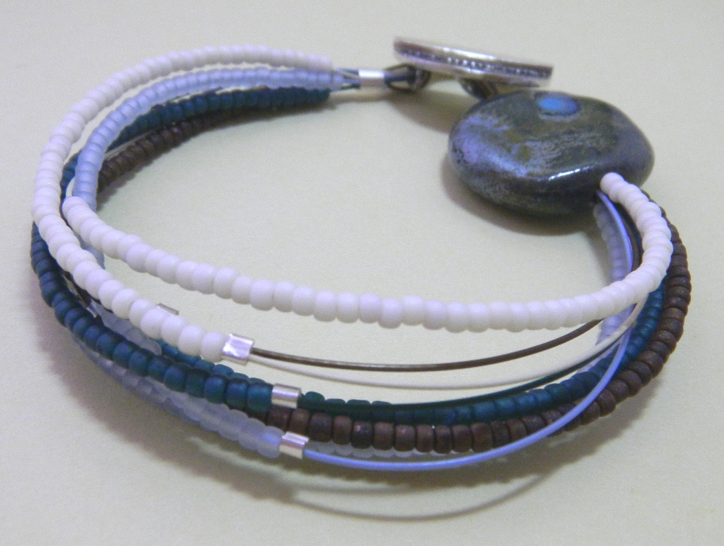 Seed bead ring ideas 5 nationtrendz com - Com Bracelet Ideas Beads Inspiration For This Little Bracelet Came From One Of The Views From