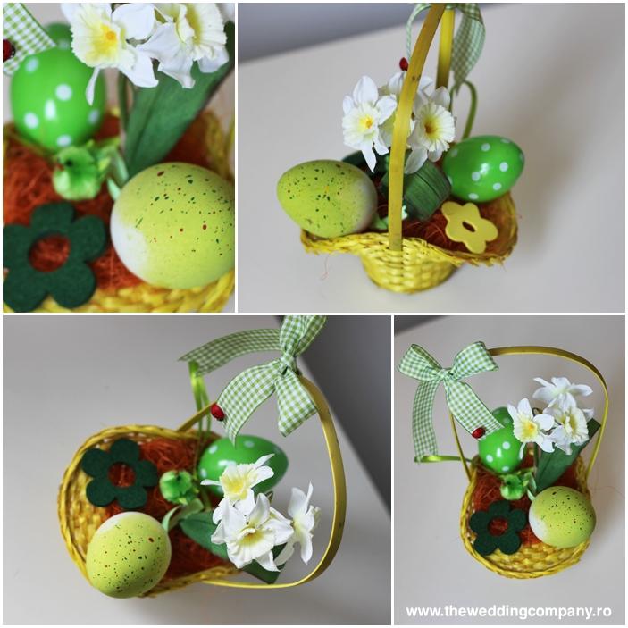 Design Si Creatii Florale: Aranjamente Pentru Paste Vesele