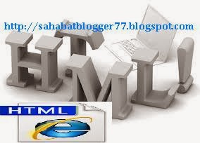 Pengertian HTML Template Berdasarkan Versi