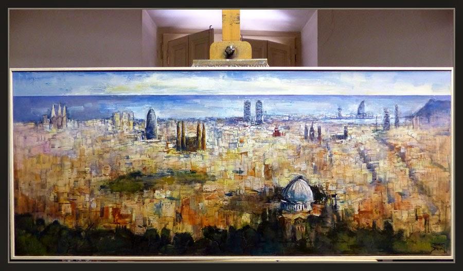 Ernest descals artista pintor barcelona pinturas pintura - Trabajo de pintor en barcelona ...