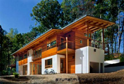Desain Rumah Minimalis Sederhana dari Kayu  Rumah Minimalis