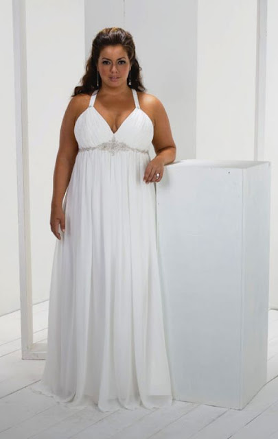 Sayumi Plus Size Wedding Dresses With Color
