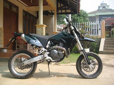 Harga Yamaha Scorpio Modif Trail