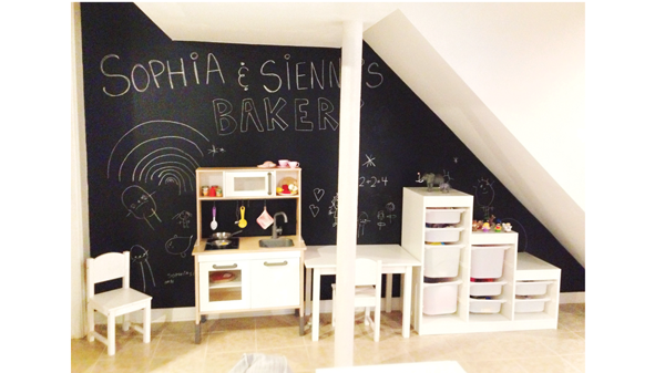 Ikea basement makeover archives at home with natalie for Basement storage ideas ikea