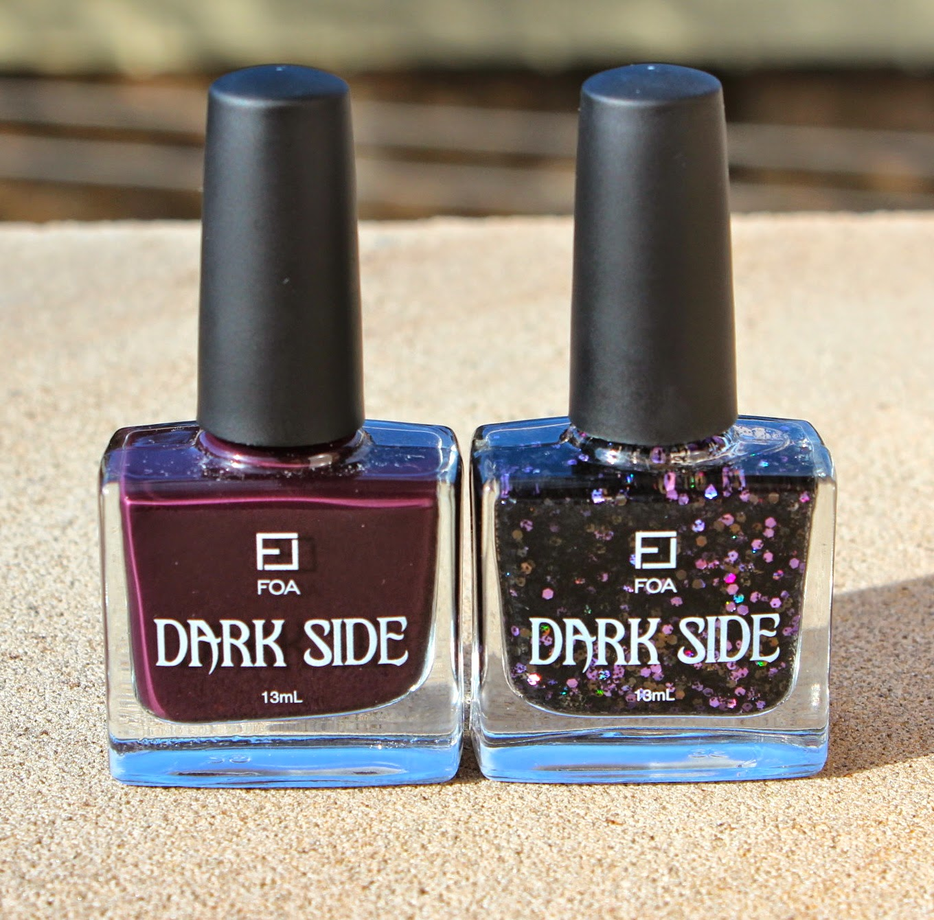Manicure Monday: Face Of Australia Dark Side Collection