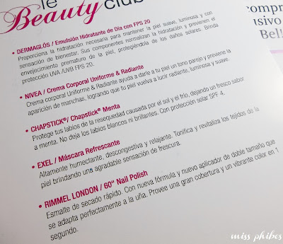 Le beauty club diciembre
