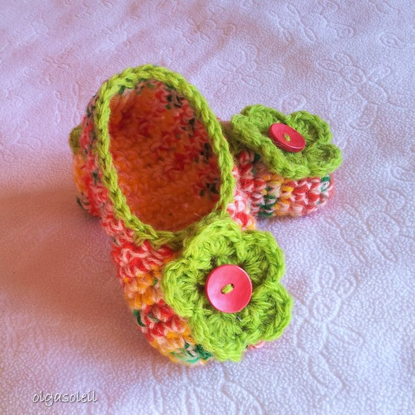 Crochet Slippers 3