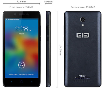 Elephone P6000 Pro, smartphone chino de gama media alta