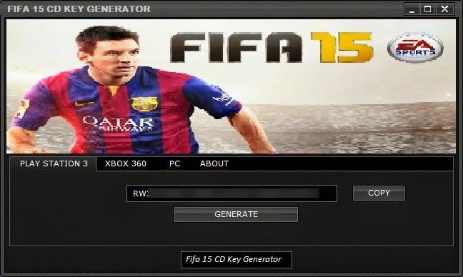 Fifa 15 CD-Key Generator