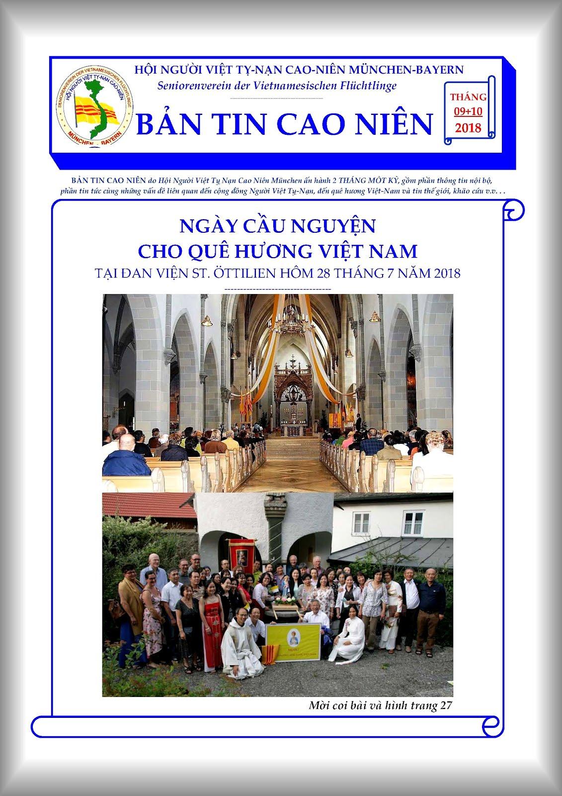 BẢN TIN CAO NIÊN 09+10-2018