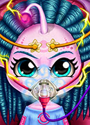 Монстр Операции - Онлайн игра для девочек