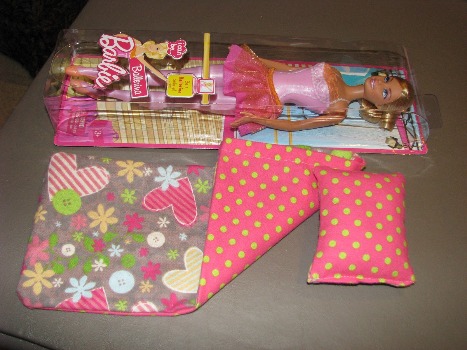 The Vintage Couch: Barbie Sleeping Bag