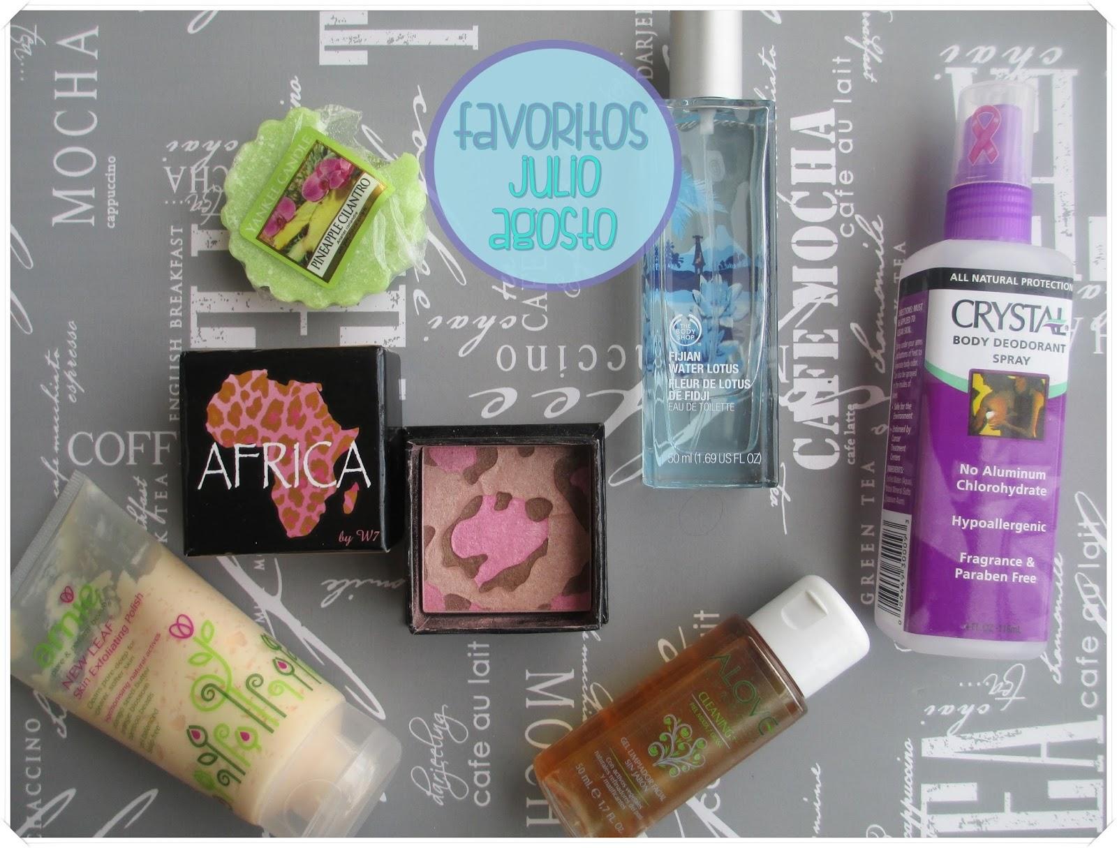 FAVORITOS: julio y agosto 2014 {maquillaje y tratamiento}