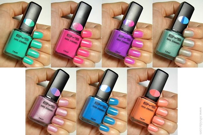 Bys Colour Change Nail Enamel