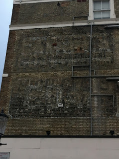 Ghost sign on Cambridge Gardens, London W10