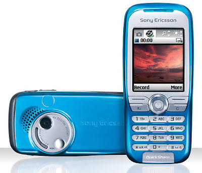 download firmware sony, fitur and spesification sony ericsson k500