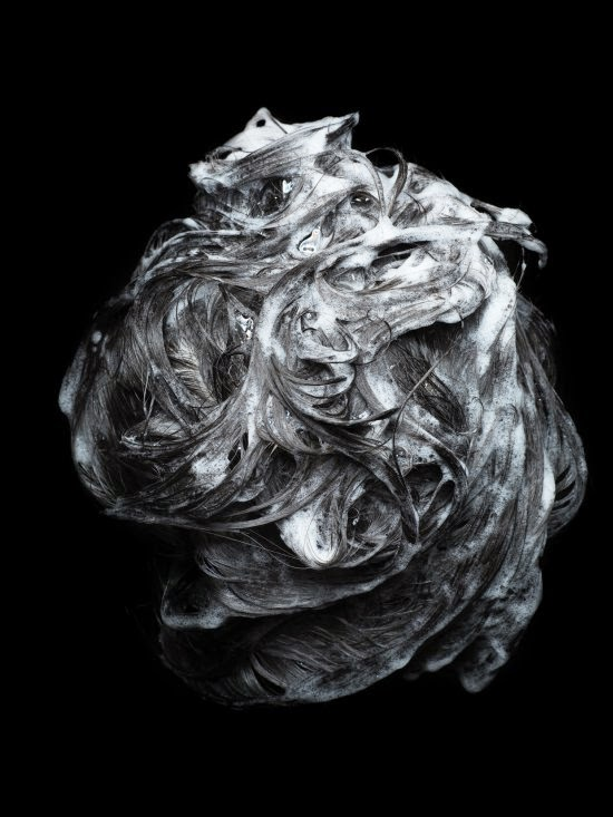Cheuk Lun Lo fotografia fashion artística cabelos penteado ensaboados