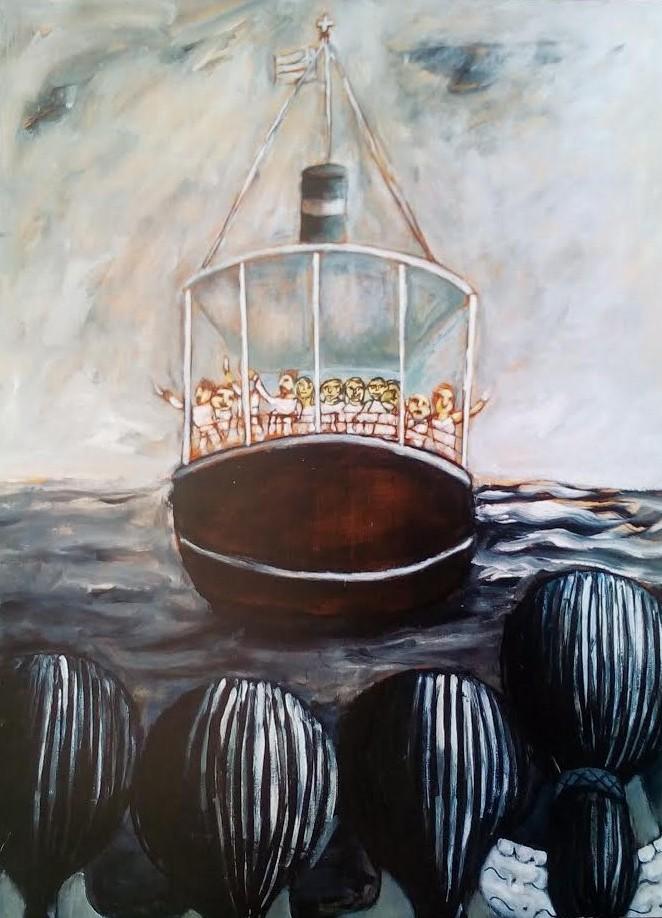 Έκθεση ζωγραφικής του Ιτιώτη Σπύρου Λύτρα