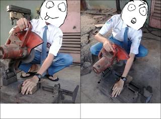berikut adalah editan photo yang lucu hasi kreativitas anak smk. smk
