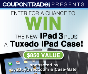 300x250 #Win the New iPad 3 & a Tuxedo iPad Case! #Giveaway