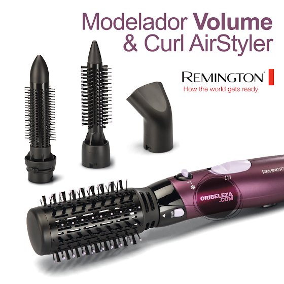 Modelador Volume & Curl AirStyler Remington