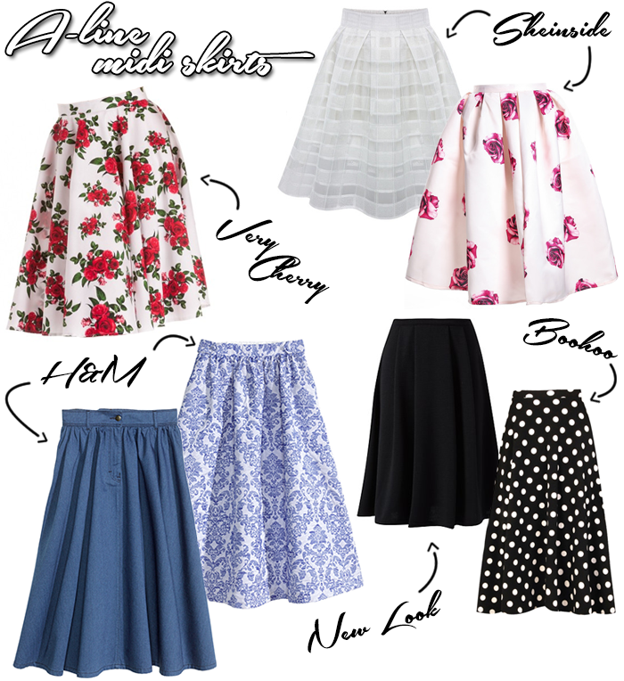 Trend Where To Buy A Line midi skirt