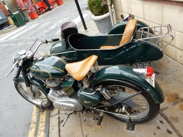 1939 Royal Enfield Bullet motorbike Mummy Returns