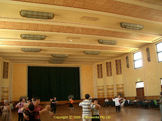 Petersham Town Hall auditorium
