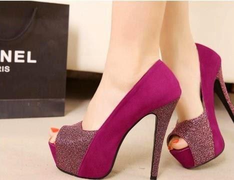 Zapatos de moda para señoritas
