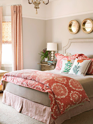 Simple tips for creating a romantic master bedroom. entirelyeventfulday.com #bedroom