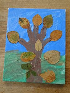 Autumn tree tutorial