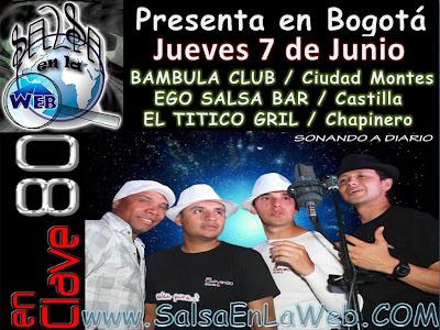 """► Lanzamiento de """" Sonando A Diario""""  con  En Clave 80 En Bogotá"""