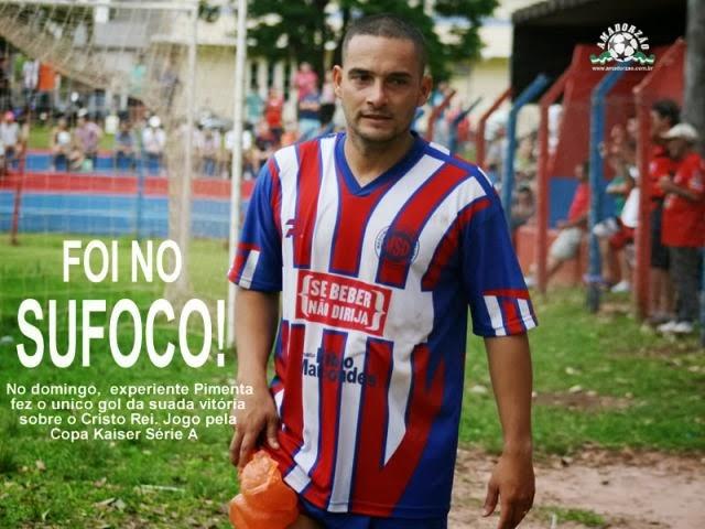 Marcando o único gol da partida, artilheiro colocou Maquininha FC na briga.