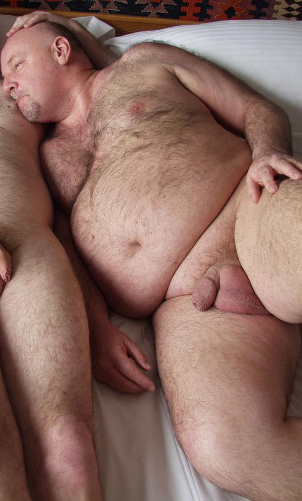 Hairy Daddy Big Uncut Cocks